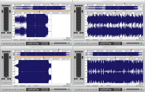 音圧波形比較