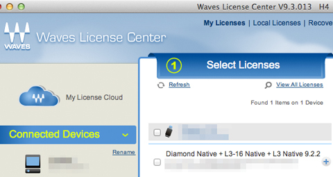 Waves Diamond L3-16